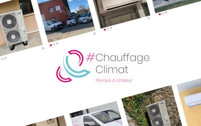 Chauffage & Climat arrive sur Instagram !